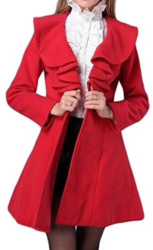 Wool Ruffle Jacket - 8