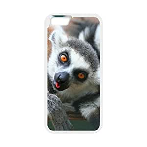 """ALICASE Diy Hard Shell Cover Case Of Lemur for iPhone 6 Plus (5.5"""") [Pattern-1] by runtopwell"""