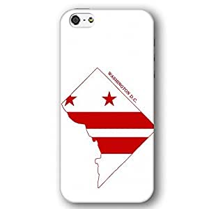Washington D.C. State Map iPhone 5 and iPhone 5s Slim Phone Case