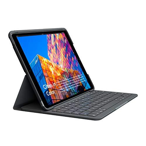 Logitech iPad Air (3rd generation) Keyboard Case, Slim Folio with Integrated Wireless Keyboard (Graphite)