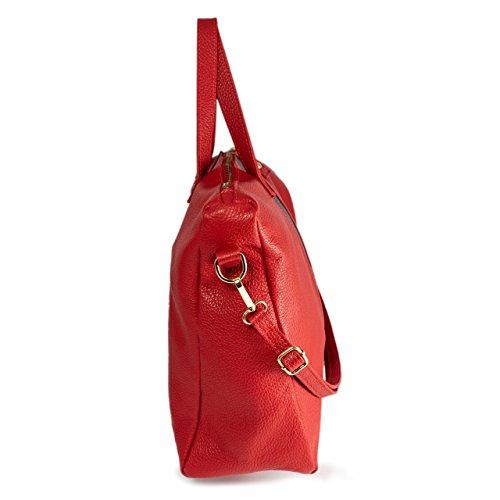 Portable Sac véritable MASSIMA en Bag PC BARONI Tendance Business Francesca à cuir pour Modèle Sac Très Shopping Chic de ou Main et Messager xZfUFxqw
