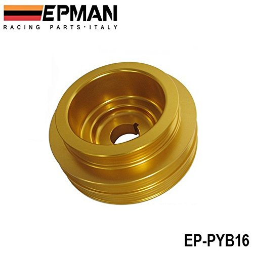 EPMAN Light Weight Crank Underdrive Engine Pulley Gold For HONDA CIVIC 92-00 ... RUIAN EP INTERNATIONAL TRADE CO. LTD