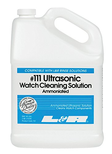 Ultrasonic Ammoniated Watch Cleaning Solution (#111) - 1 Gallon