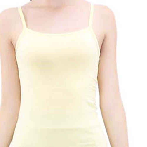 La camiseta sin mangas flaca del chaleco suave de la camiseta de las mujeres atractivas de la manera, # 10