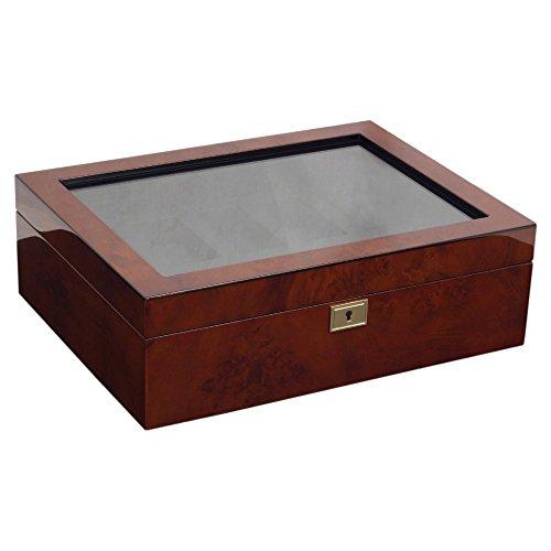 WOLF Savoy 10 Piece Watch Box