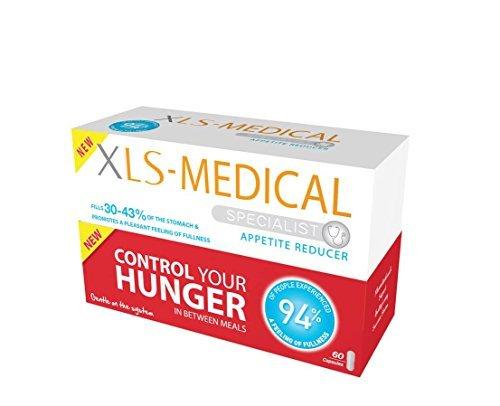 XLS-Medical Appetite Reducer Diet Pills - Pack of 60 by XLS Medical by XLS Medical