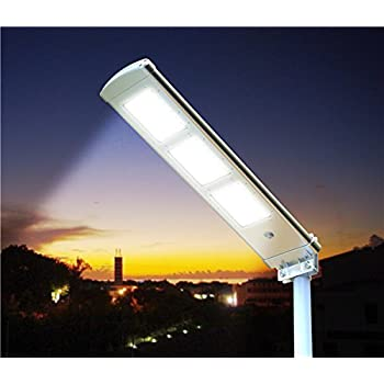SOLAR STREETLIGHT, LED AREA LIGHT, PERIMETER LIGHT, OFF-GRID SOLAR