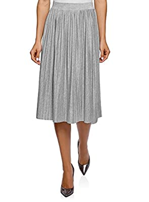 oodji Ultra Women's Pleated Midi Skirt