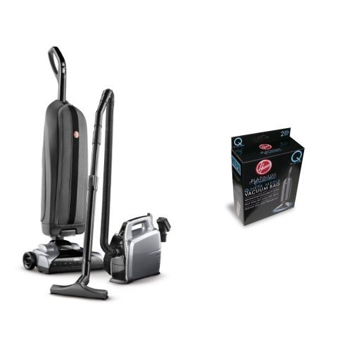 Hoover Platinum Collection Lightweight Bagged Upright with Canister, - Hoover Platinum Type Q