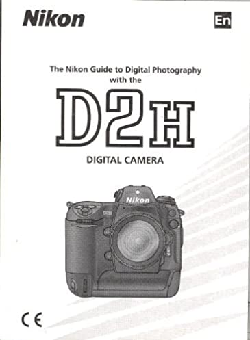 nikon d2h digital camera original instruction manual nikon amazon rh amazon com Nikon D1 Nikon D1