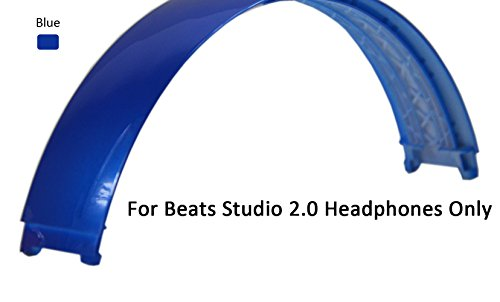 Replacement Top Headband Pad Cushions Repair Parts for Beats Studio 2.0 Wired / Wireless Over Ear Headphone