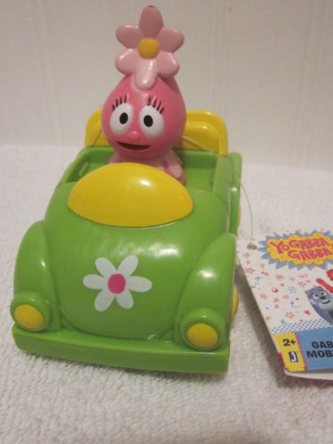 Yo Gabba Gabba Mobiles Vehicle Foofa in Green Flower Car 3