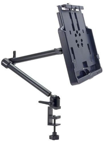 Power Wheelchair Custom (Custom Fit Apple iPad 4 3 2 Locking Dock Charging Holder with Heavy Duty 22 inch C Clamp Table Desk or Cart Mount)