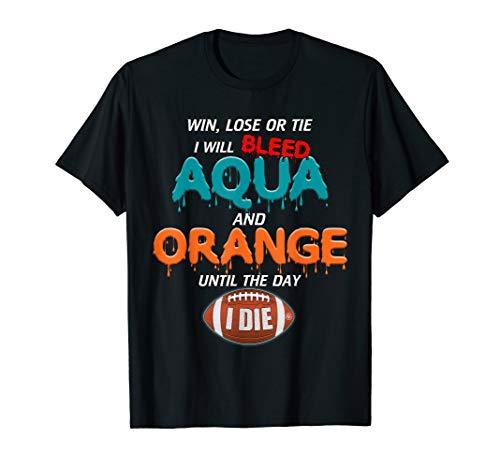 Gulf Shores Apparel: Miami Football Shirt: Limited Edition T-Shirt