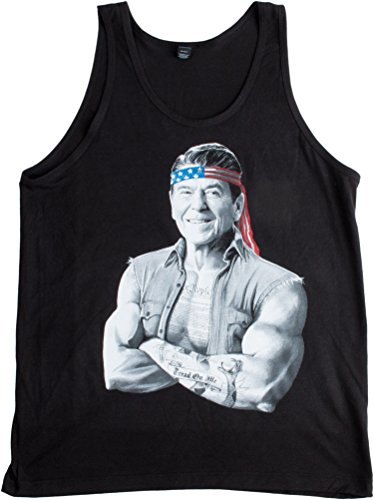 Ronald Reagan, American Icon | Epic Conservative 'Merica Freedom Unisex Tank Top