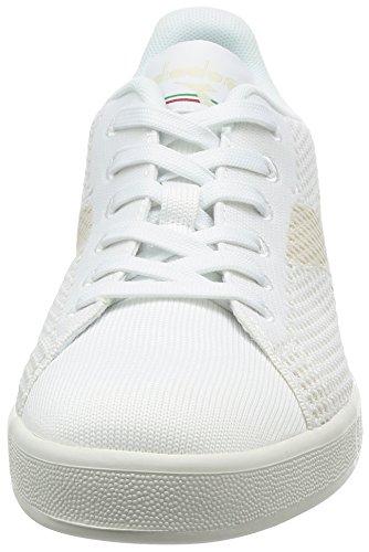 Basso Diadora a Uomo Weave Game Collo Sneaker Bianco PxwUqP8