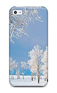 Best Faddish Winter Earth Nature Winter Case Cover For Iphone 5c