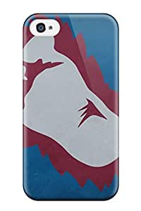 Defender Case With Nice Appearance (colorado Avalanche (70) ) For Iphone 4/4s