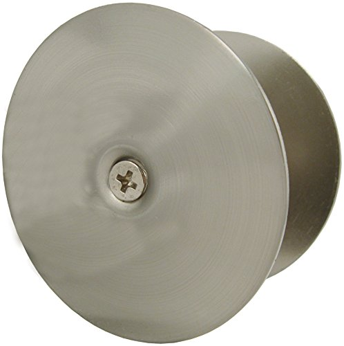 Stone Harbor Hardware Hole Filler Plate (Satin Nickel) (Door Hole Cover Satin Nickel)