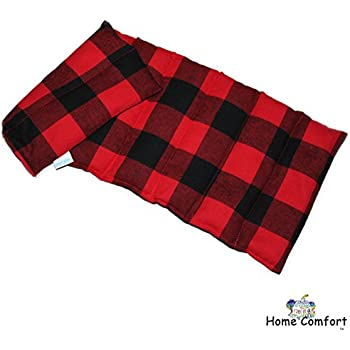 Microwavable Heating Pad (Red Plaid)