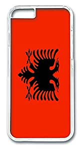 ACESR Albania Flag Customize iPhone Case PC Hard Case Back Cover for Apple iphone 5c