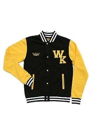 1c74afd2b751 Amazon.com  Wiz Khalifa Taylor Gang Varsity Jacket 3XL Size   XXX ...
