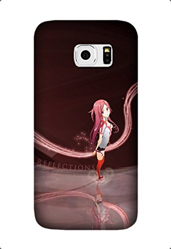 Personalized Protective Hard Textured Dragonaut: The Resonance Anime Cell Phone Case Cover Compatible with Samsung Galaxy S7