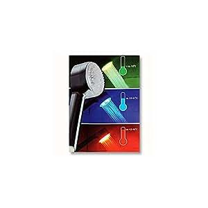 Cabezal de ducha – Luces LED con cambio de color