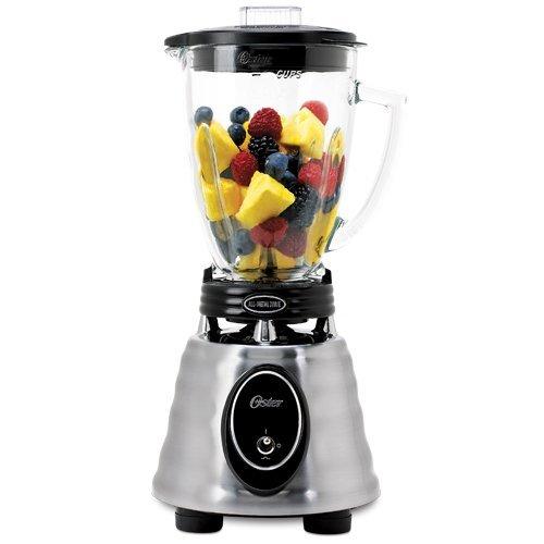 オスターブレンダー 6カップ ガラスジャー ステンレス  Oster BPCT02  6-Cup Glass Jar 2-Speed Toggle Beehive Blender, Stainless Steel【並行輸入品】   B004X8QZK4
