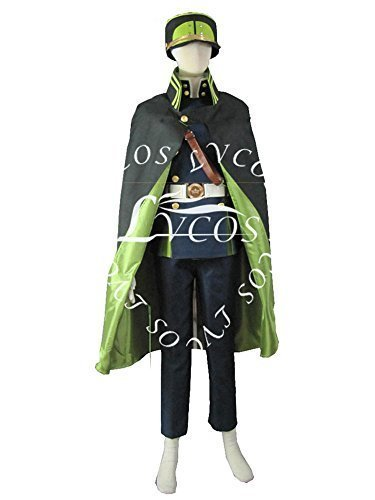Lvcos Men's Costume Uniform Anime Cosplay Costume by Lvcos