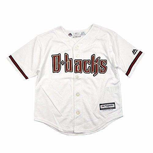 Uniform Majestic - Arizona Diamondbacks Home White Cool Base Child Size Jerseys (Medium (5/6))