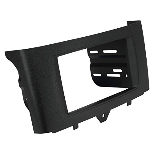 SCOSCHE ST2431B 2011-Up Smart Fortwo Double DIN or DIN w/Pocket Install Dash Kit