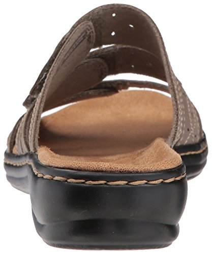 Cacti CLARKS Leisa Women Sage Leather W0TWABfwq