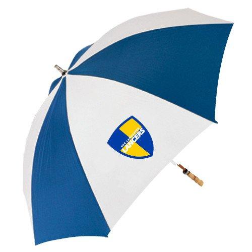 USCランカスター62インチロイヤル/ホワイト傘' Shield '   B06XB4DZ7S