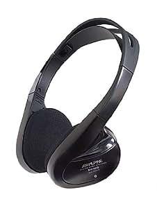 Alpine SHS-N205 - Auriculares inalámbricos de doble fuente para monitores Alpine