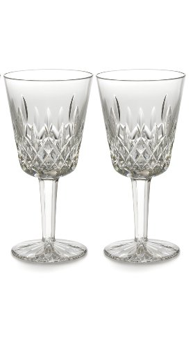 Waterford Lismore Goblet Pair, 8-Ounce