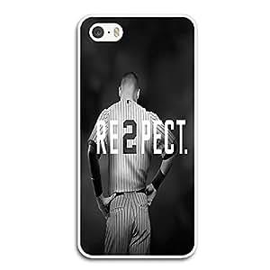 Derek Jeter RE2PECT New York Yankees - Apple iPhone 5 5s Plastic Case White