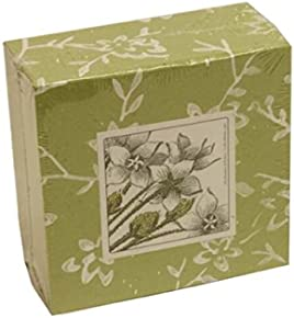 JAM Paper Cube Note Pads Handmade in Italy - 4-inch - Green - Sold individually