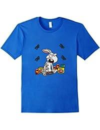 Gamer Rabbit T-Shirt Cute, Geeky, Nerdy & Funny Gaming Shirt