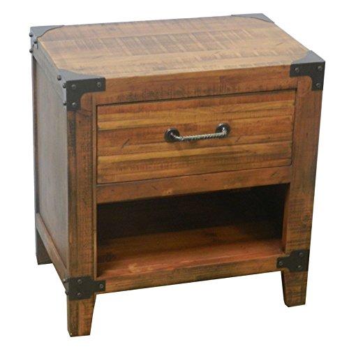 StealStreet SS-Edb-EN27169 23.75 inch Wooden Telephone Table by StealStreet (Image #1)'