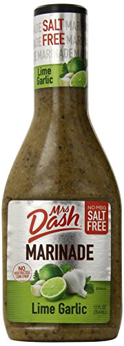 Mrs. Dash Marinade, Garlic Lime, 12 Ounce (Pack of 6)