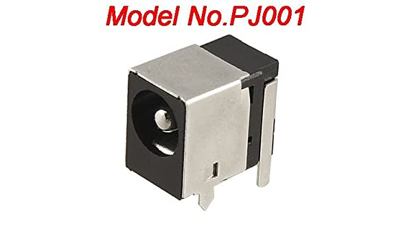 Amazon.com: eDealMax DC Power Jack DE 2,5 mm PJ001 w Escudo del Metal Para Acer 1302: Electronics