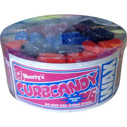 (SHORTY'S CURB CANDY WAX 25 piece container)