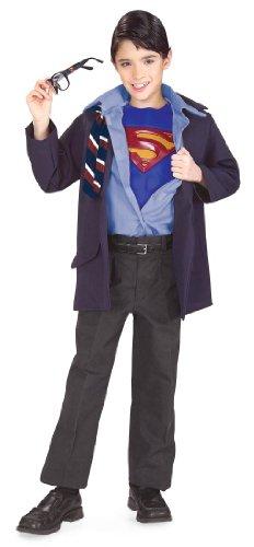 [Clark Kent Costume - Small] (Superman Clark Kent Halloween Costume)