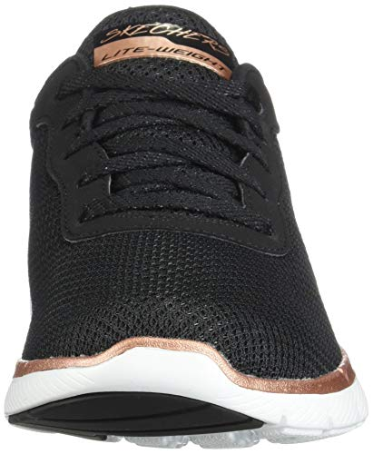 Nero Sneaker 0 3 Donna Skechers Flex first Appeal Insight 6qYxzw8Z
