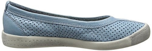 Femme Pumps Softinos Turquoise pastel Blue Iol389sof YqzET