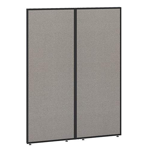 Bush Business Furniture PP66749-03 ProPanels Office Partition, 66H x 48W, Light Gray by Bush Business Furniture