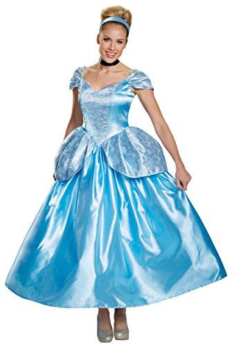 DIS88927 (4-6) Cinderella Prestige Adult Costume New (Lady Knight Costume)