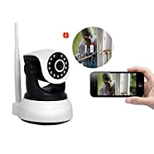 Wireless WiFi Surveillance Camera dual-way talk Security camera Microphone Speaker
