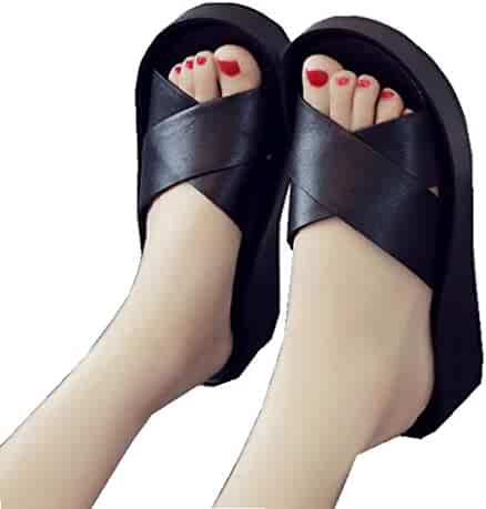 ee4b02f99742a0 LKOMARKET Cool slippers Slippers open-toed sandals with flat leisure shoes